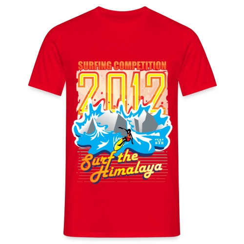 Surf the Himalaya - Mannen T-shirt