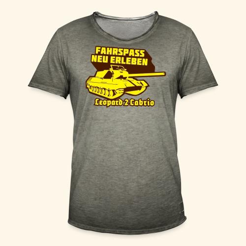 Leopard 2 Cabrio, Kerlie - Männer Vintage T-Shirt