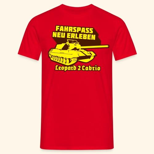 Leopard 2 Cabrio, Kerlie - Männer T-Shirt