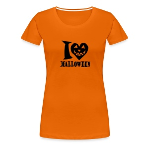 I love Halloween - Frauen Premium T-Shirt