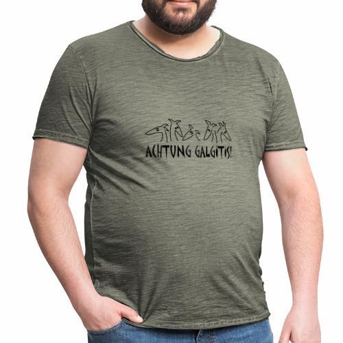 Achtung Galgitis 2 - Männer Vintage T-Shirt