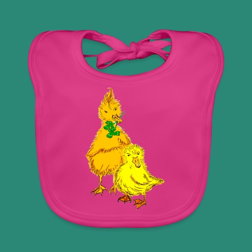 Kinder T Shirt Küken - Baby Bio-Lätzchen