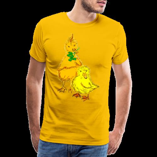 Kinder T Shirt Küken - Männer Premium T-Shirt