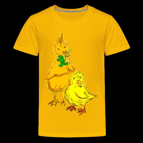 Kinder T Shirt Küken - Teenager Premium T-Shirt