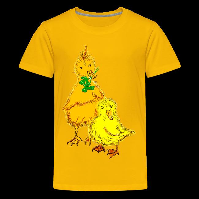 Kinder T Shirt Küken