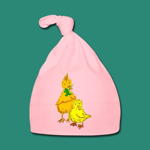 Kinder T Shirt Küken - Baby Mütze