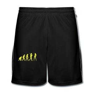 Evolution Babe - Männer Fußball-Shorts