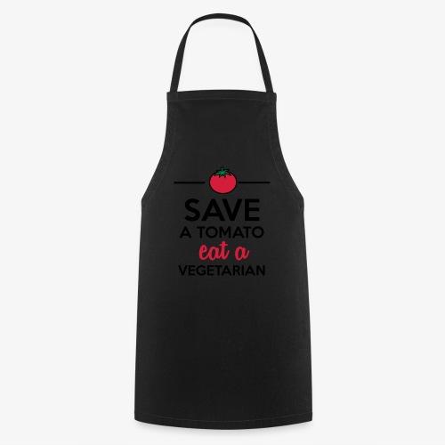 Tomaten & Gemüse - Save a Tomato eat a Vegetarian - Kochschürze