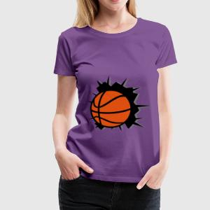 Basketball Tops - Vrouwen Premium T-shirt