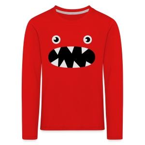 Phillip det lilla monstret - Långärmad premium-T-shirt barn
