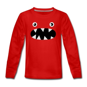 Phillip det lilla monstret - Långärmad premium-T-shirt tonåring