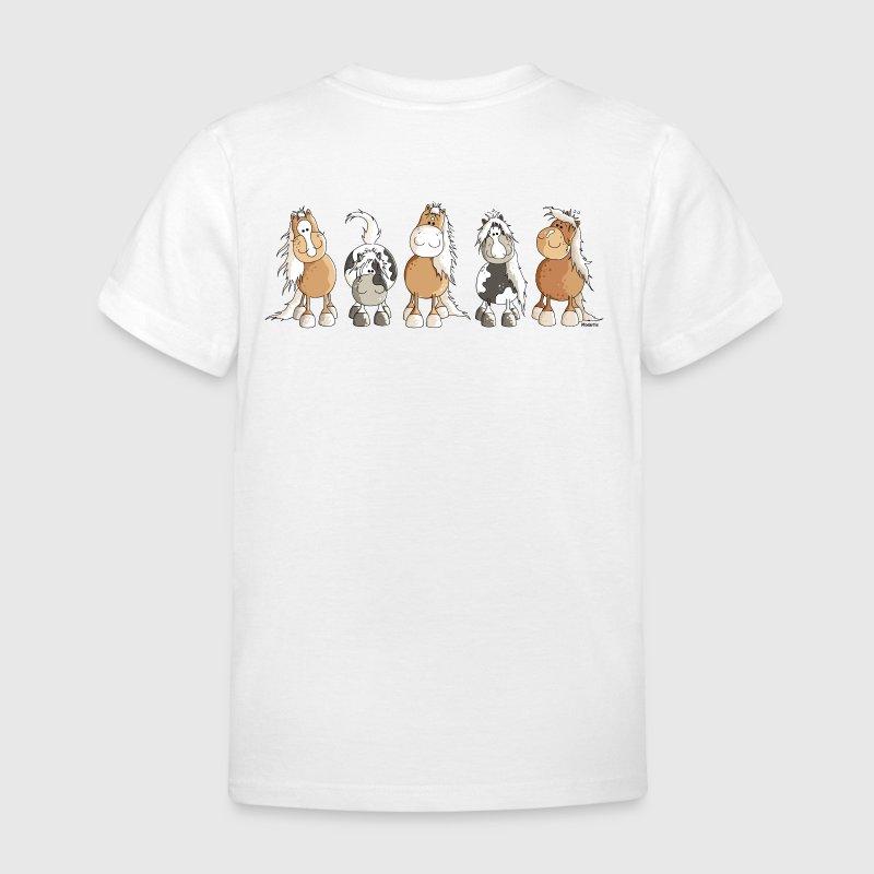 Funny Horses - Pferde - Pferd T-Shirts - Kinder T-Shirt