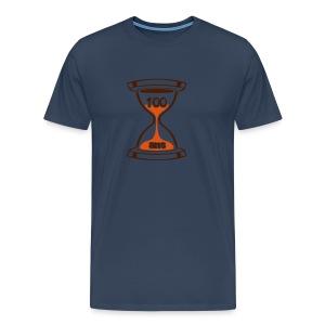 100 Ans sablier - T-shirt Premium Homme