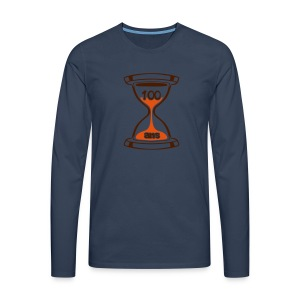 100 Ans sablier - T-shirt manches longues Premium Homme