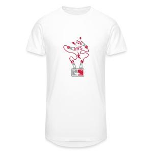 100 Ans batterie - T-shirt long Homme
