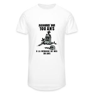 100 Ans memoire - T-shirt long Homme