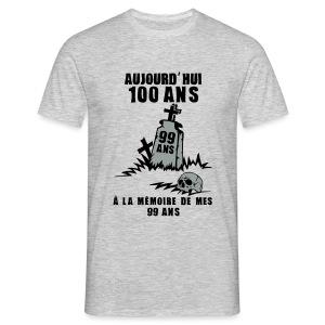 100 Ans memoire - T-shirt Homme