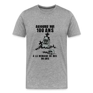 100 Ans memoire - T-shirt Premium Homme