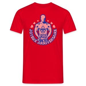 100 Ans feuille vigne - T-shirt Homme
