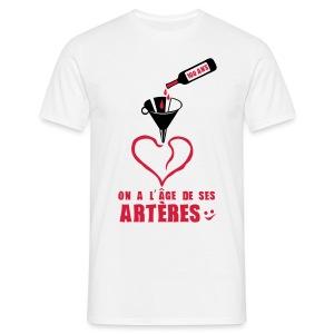 100 Ans arteres - T-shirt Homme
