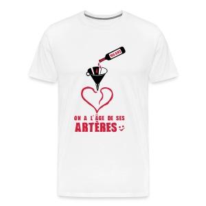 100 Ans arteres - T-shirt Premium Homme
