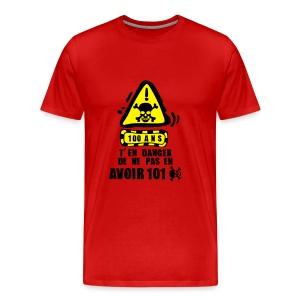 100 Ans danger - T-shirt Premium Homme