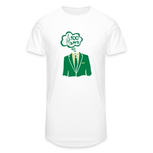 100 Ans costume bulle - T-shirt long Homme