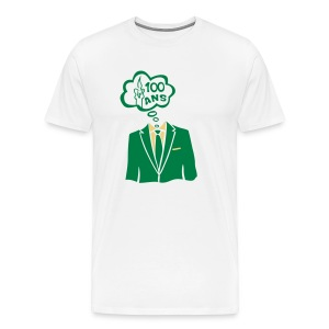 100 Ans costume bulle - T-shirt Premium Homme
