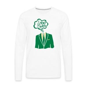 100 Ans costume bulle - T-shirt manches longues Premium Homme