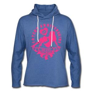 100 Ans bisous fille - Sweat-shirt à capuche léger unisexe