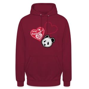 100 Ans panda - Sweat-shirt à capuche unisexe
