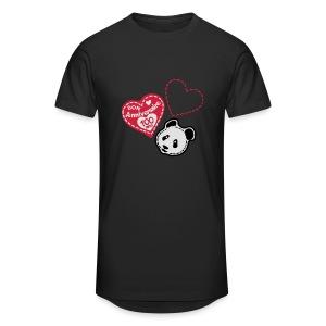 100 Ans panda - T-shirt long Homme