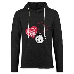 100 Ans panda - Sweat-shirt à capuche léger unisexe