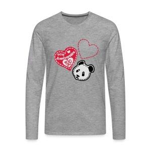 100 Ans panda - T-shirt manches longues Premium Homme