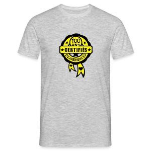 100 Ans certifié - T-shirt Homme