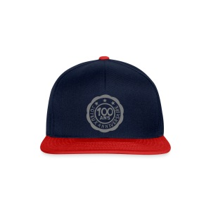 100 Ans tampon - Casquette snapback