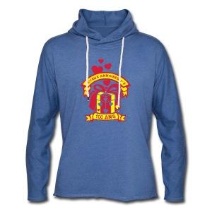 100 Ans cadeau - Sweat-shirt à capuche léger unisexe