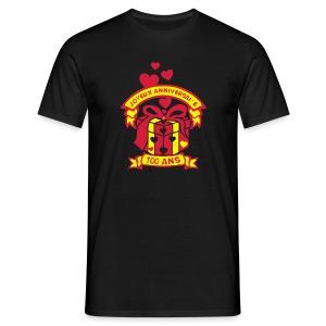 100 Ans cadeau - T-shirt Homme