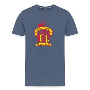 100 Ans cadeau - T-shirt Premium Homme