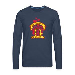 100 Ans cadeau - T-shirt manches longues Premium Homme