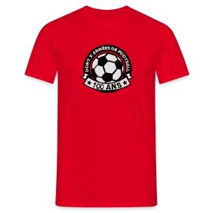 100 Ans x année de foot - T-shirt Homme