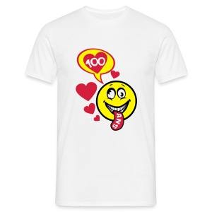 100 Ans smiley tire la langue - T-shirt Homme