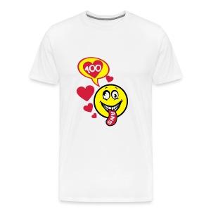 100 Ans smiley tire la langue - T-shirt Premium Homme