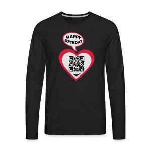100 Ans  moi - T-shirt manches longues Premium Homme