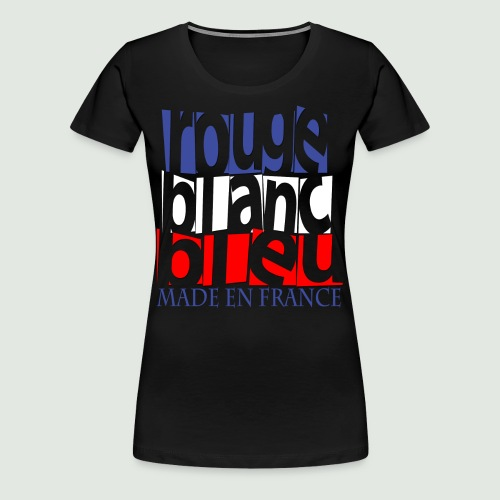Made en France - T-shirt Premium Femme