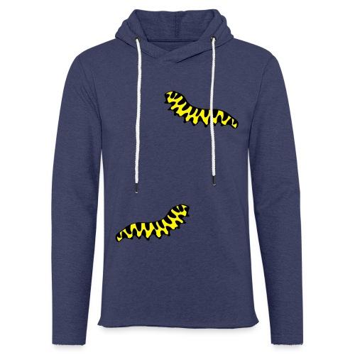 T-Shirt Raupe für Männer - Leichtes Kapuzensweatshirt Unisex