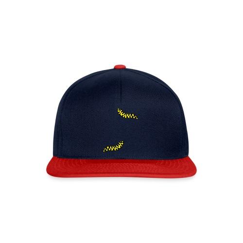 T-Shirt Raupe für Männer - Snapback Cap
