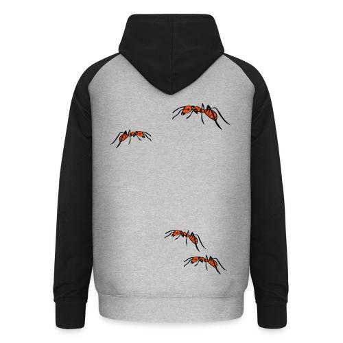 T-Shirt Ameisen für Frauen - Unisex Baseball Hoodie
