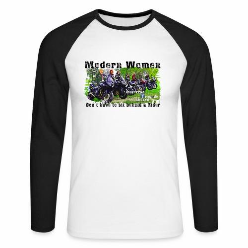 Modern Women FB Gruppe Uelzen - Männer Baseballshirt langarm
