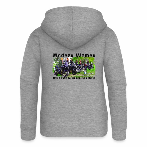 Modern Women FB Gruppe Uelzen - Frauen Premium Kapuzenjacke